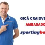 Gica Craioveanu este ambasador Sportingbet