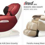 Fotolii sau scaune cu masaj pentru toata familia