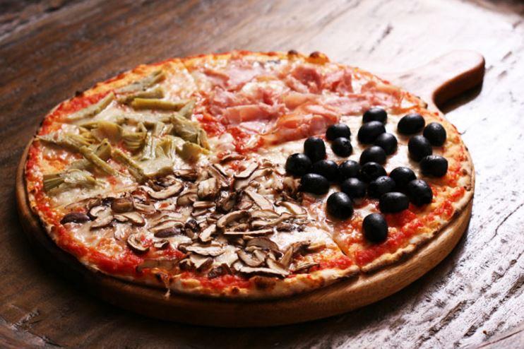 pizza guatrro stagioni