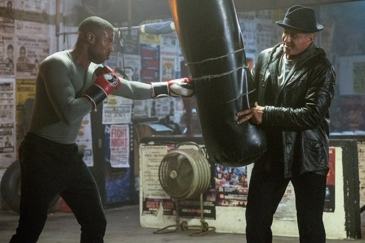 Rocky Balboa in Creed 2