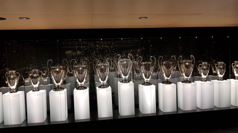 trofee Champions League așe cșubului din Madrid