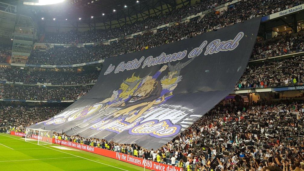 peluza echipei Real Madrid