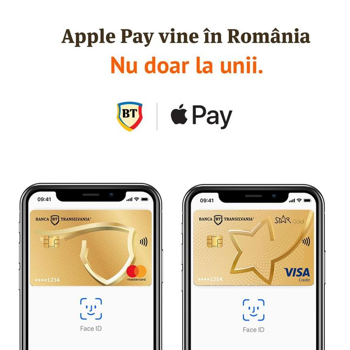 Apple Pay in Romania