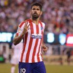 Diego Costa a primit cartonas rosu direct intr-un amical